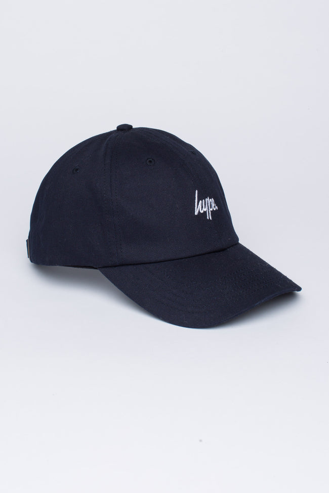 HYPE NAVY SCRIPT DAD HAT
