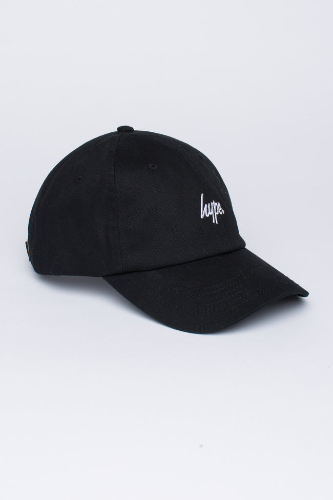 HYPE BLACK SCRIPT DAD HAT