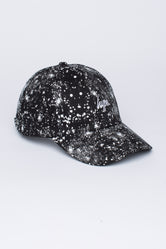 HYPE BLACK AOP SPECKLE DAD HAT