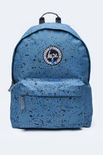 HYPE AIRFORCE BLUE WITH BLACK & BLUE SPECKLE BACKPACK