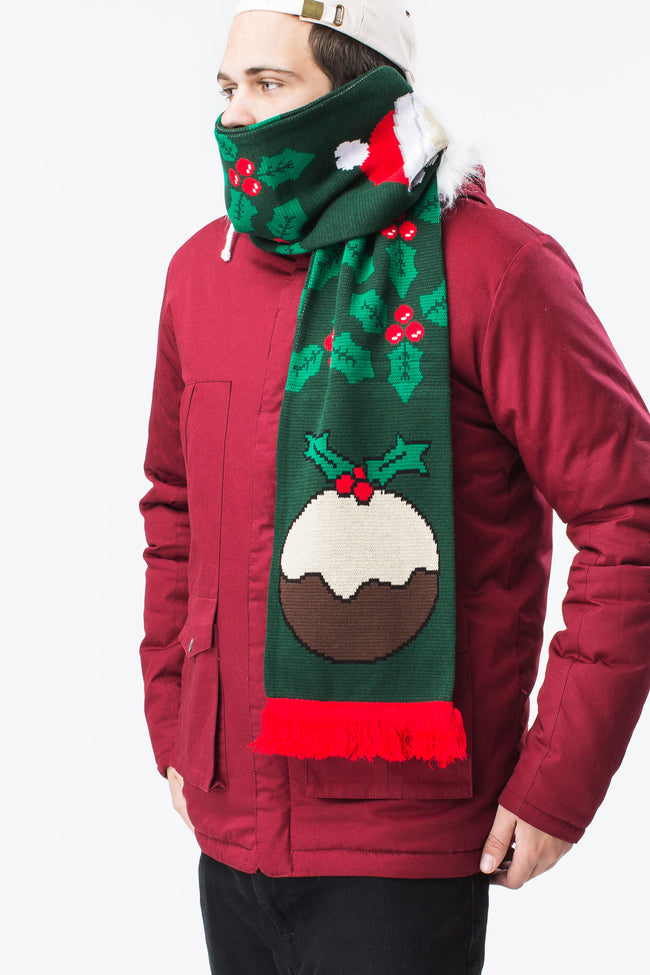 HYPE PUDDING XMAS SCARF