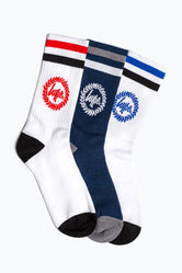 HYPE CREST CREW SOCKS 3X PACK