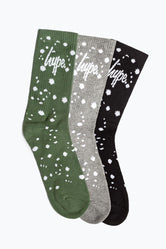 HYPE DRIPS CREW SOCKS 3X PACK