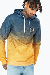 HYPE GOLD SPECKLE FADE MEN'S PULLOVER HOODIE