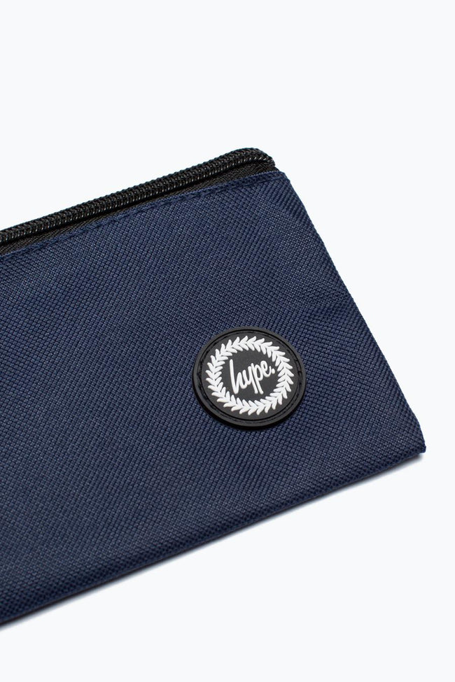HYPE NAVY CREST PENCIL CASE