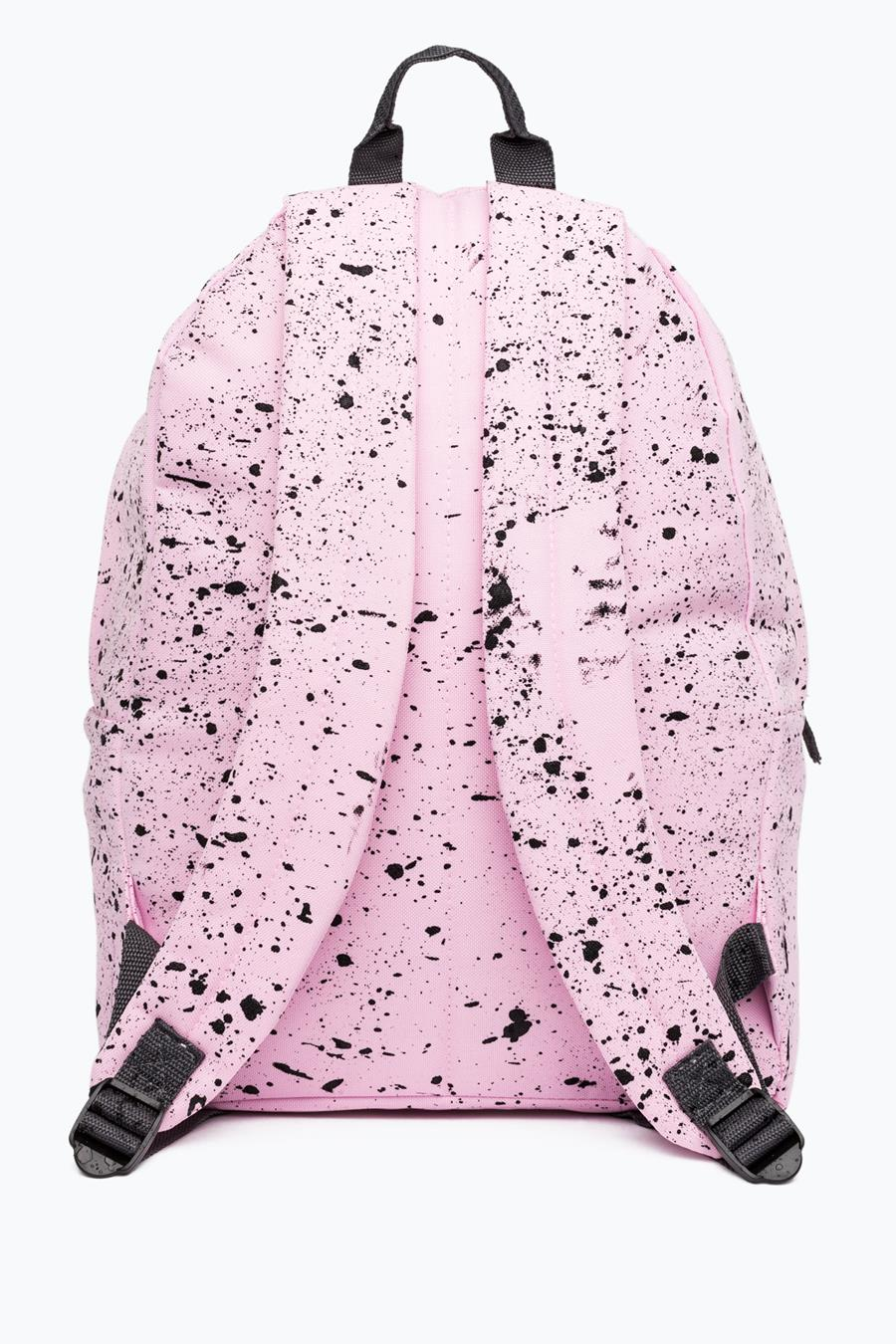 9ab95b12952b HYPE BABY PINK WITH BLACK SPECKLE BACKPACK – JustHype ltd