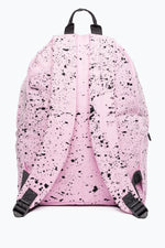 HYPE BABY PINK WITH BLACK SPECKLE BACKPACK