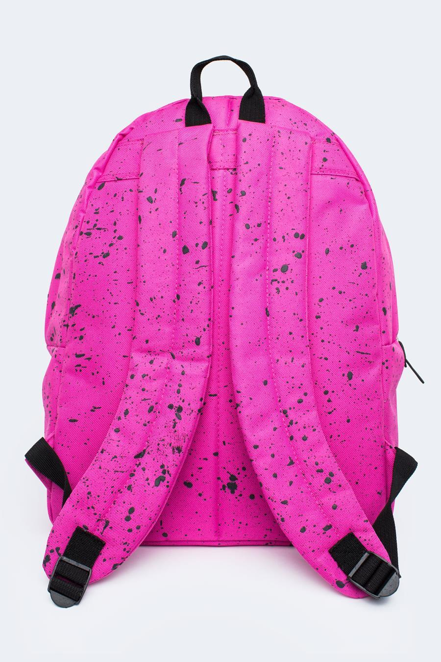 c26b811a2730 HYPE PINK WITH BLACK SPECKLE BACKPACK – JustHype ltd