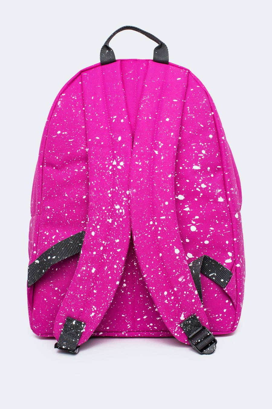 ca591fe17173 HYPE PINK WITH WHITE SPECKLE BACKPACK – JustHype ltd