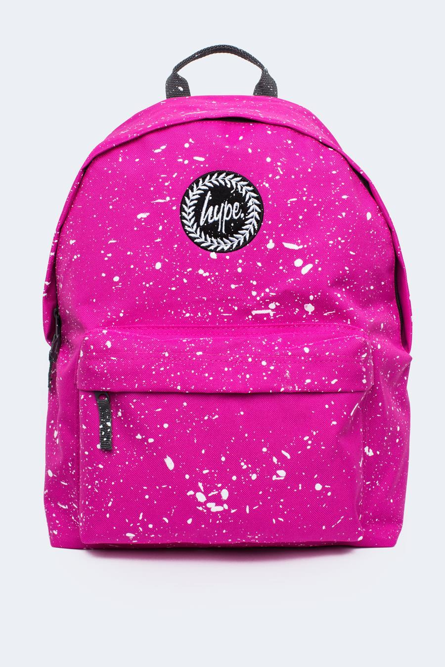 HYPE PINK WITH WHITE SPECKLE BACKPACK  6e247789eb96f