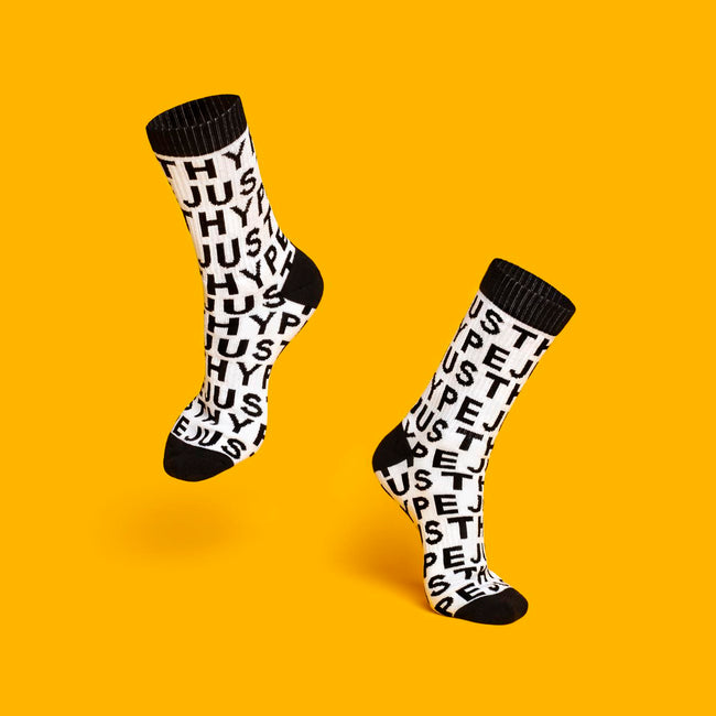 HYPE JUST HYPE CREW SOCKS 3X PACK