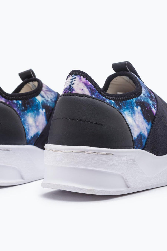 HYPE BLACK SPACE ELLIS TRAINERS