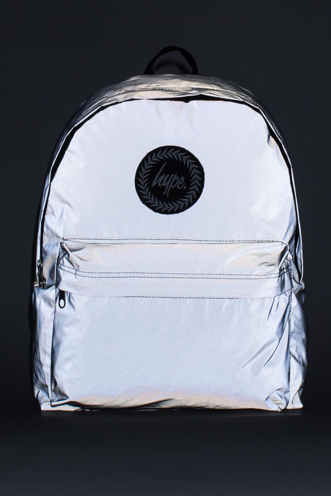 HYPE GREY REFLECTIVE BACKPACK