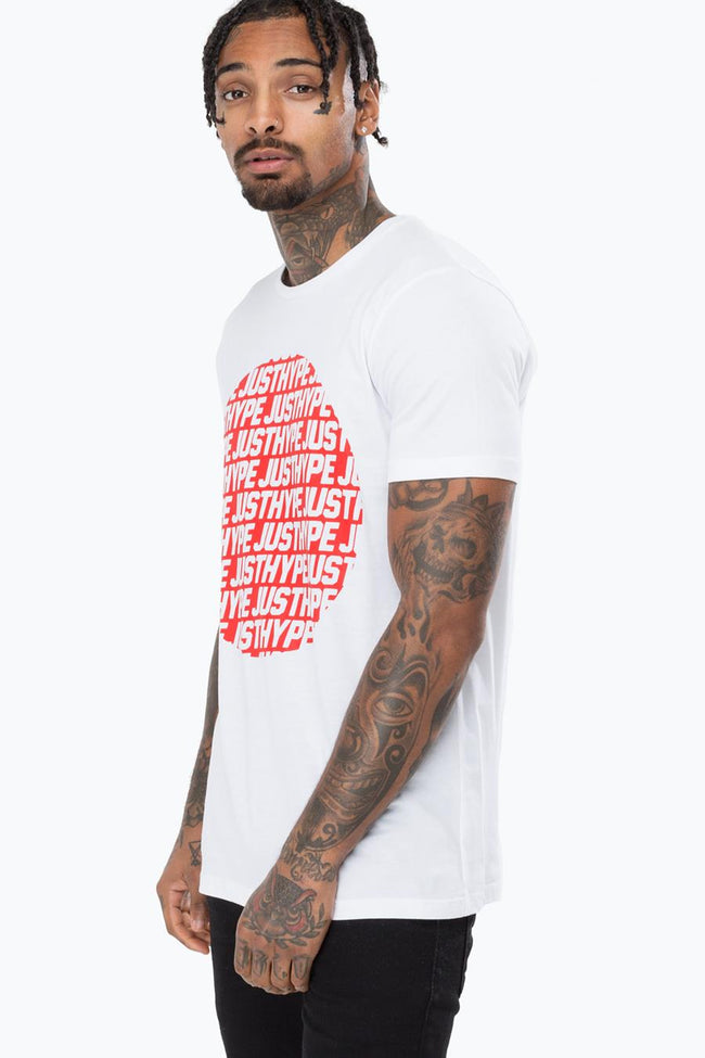 HYPE WHITE JH SPORTING MENS T-SHIRT