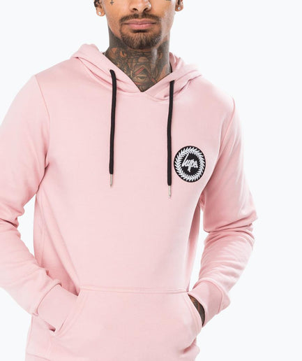 HYPE PINK CREST MEN'S PULLOVER HOODIE