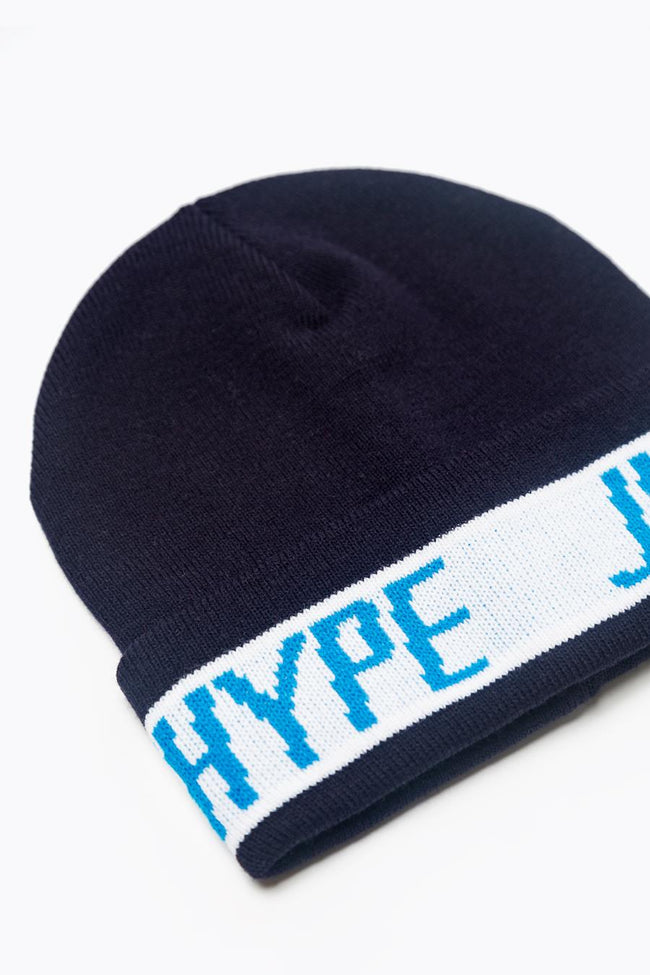 HYPE NAVY SPORTING BEANIE