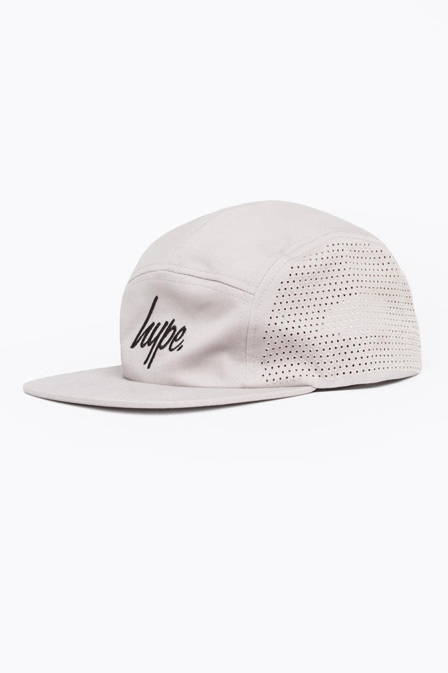 HYPE GREY LASER POLKA 5 PANEL HAT