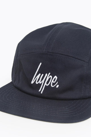 HYPE NAVY LASER POLKA 5 PANEL HAT