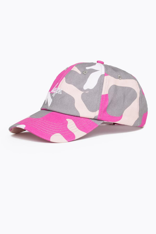 HYPE PINK CAMO DAD HAT