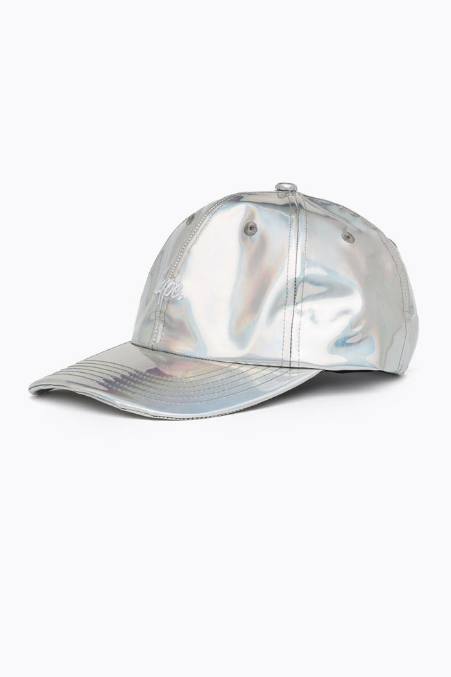 HYPE SILVER IRIDESCENT DAD HAT