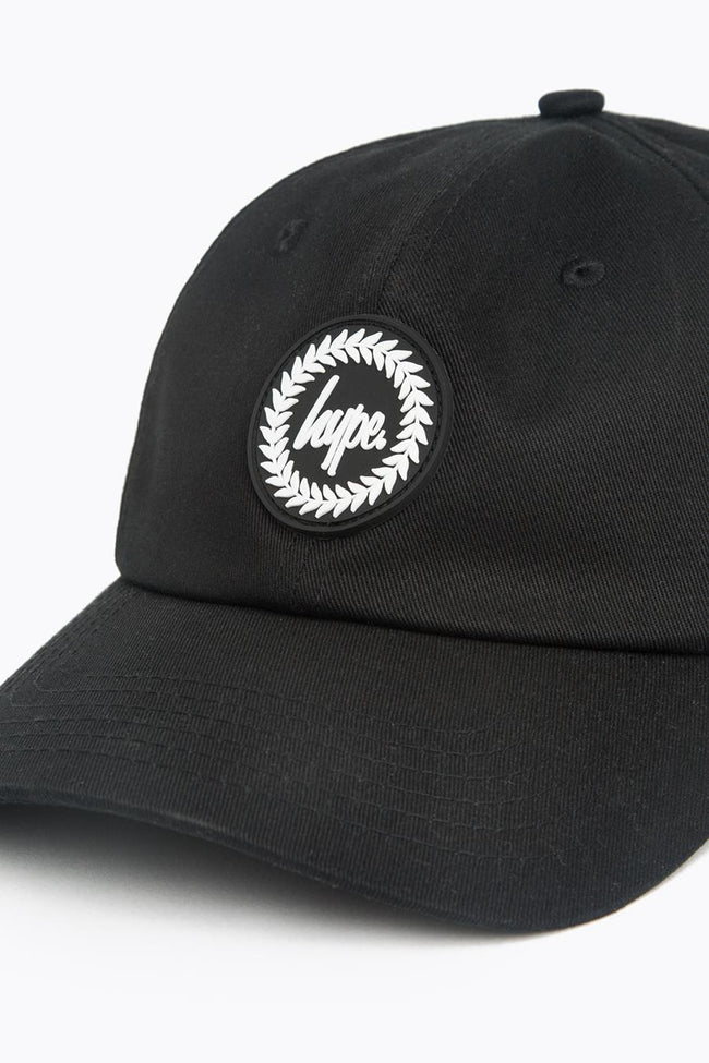 HYPE BLACK CREST DAD HAT