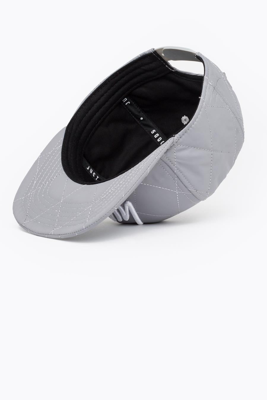 HYPE REFLECTIVE QUILTED REFLECTIVE SNAPBACK HAT – JustHype ltd 2c8502ca32