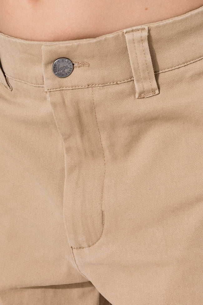HYPE TAN CORE KIDS CHINO SHORTS