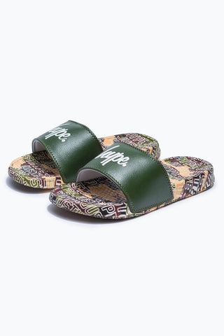 HYPE CAMO JUSTHYPE CAMO KIDS SLIDERS
