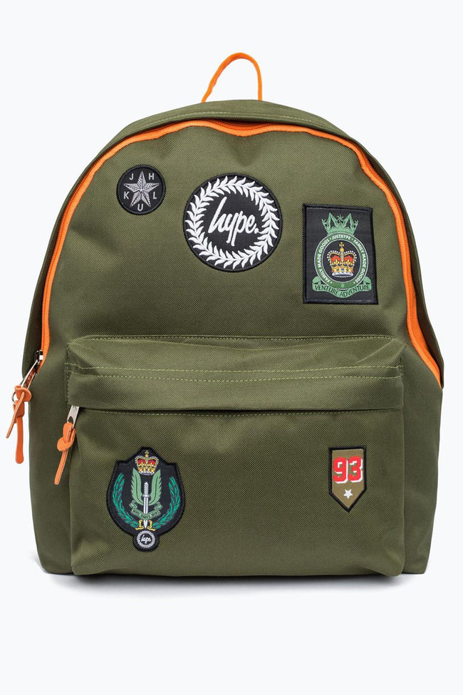 HYPE KHAKI MILITARY BACKPACK
