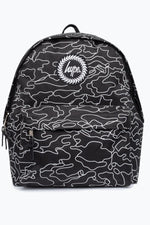 HYPE BLACK FUTURE CAMO BACKPACK