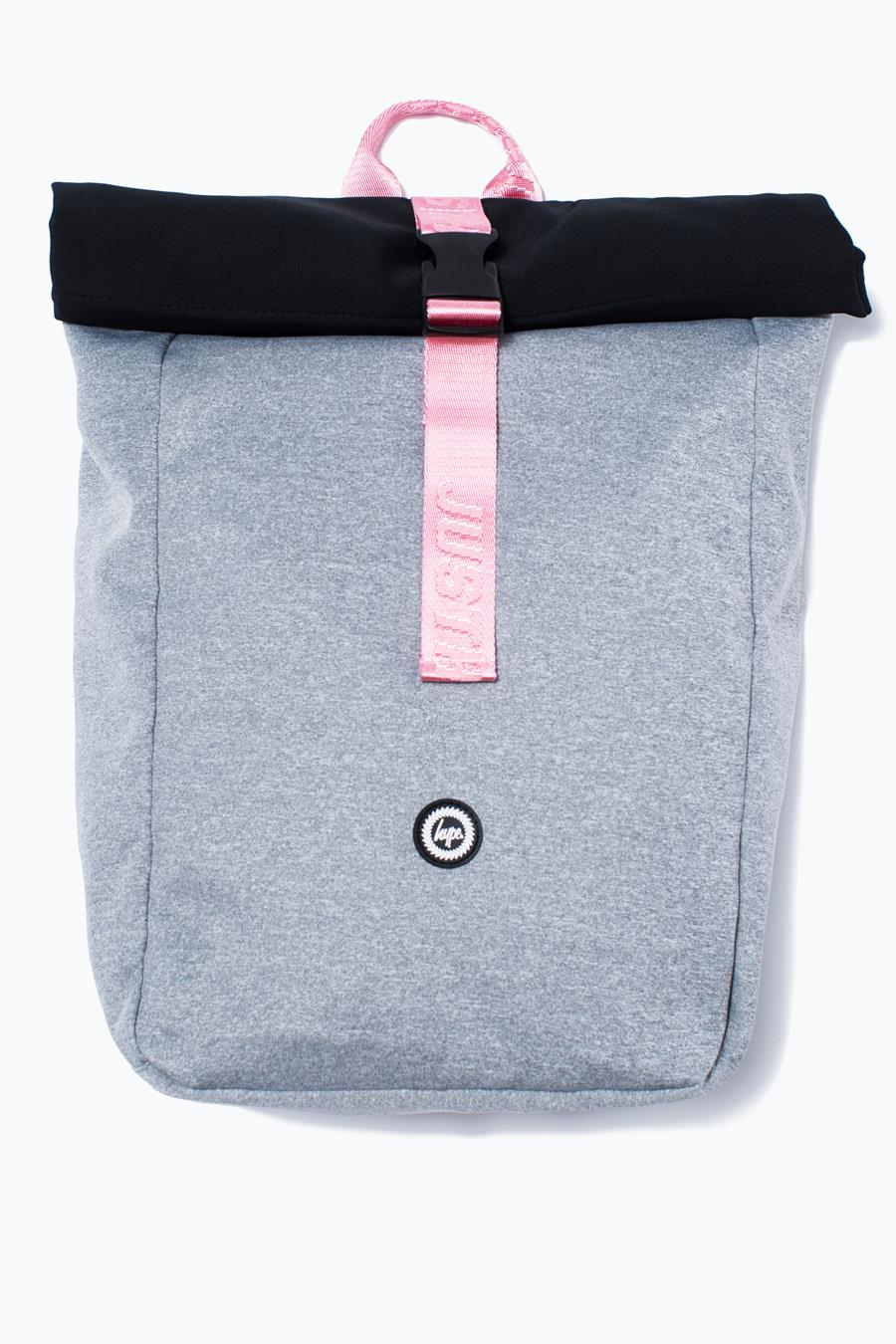 f74a7fd47d HYPE GREY TAPING BACKPACK ROLLTOP – JustHype ltd