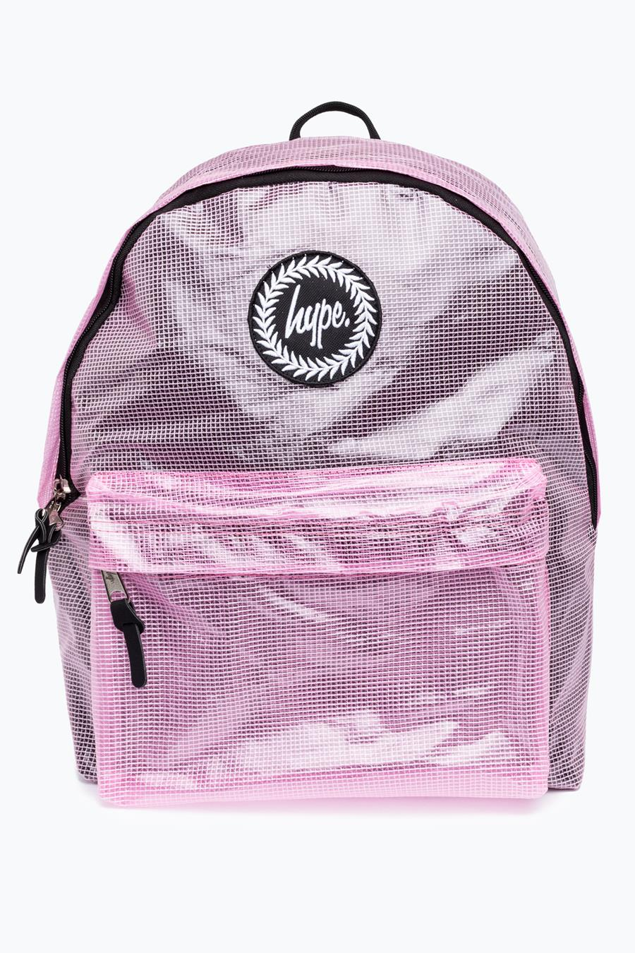 cc0e0616dc0b Hype Peach Tarpaulin Backpack – JustHype ltd