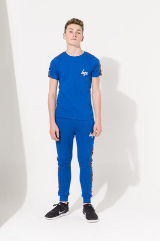 HYPE BLUE TAPED KIDS T-SHIRT