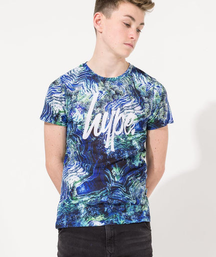 HYPE EARTH MAP KIDS T-SHIRT