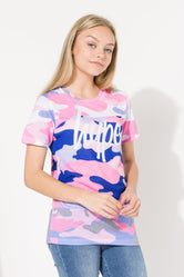 HYPE SPLIT CAMO KIDS T-SHIRT