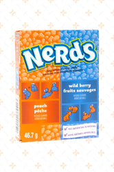 WONKA NERDS PEACH & WILD BERRY 46.7G