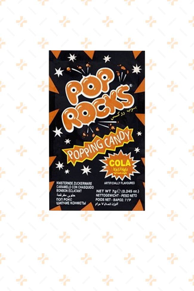 POP ROCKS COLA POPPING CANDY 7G