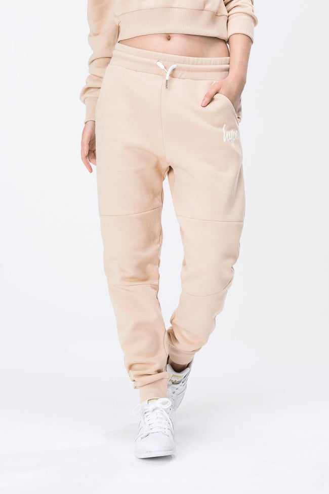 HYPE SAND SCRIPT WOMENS JOGGERS