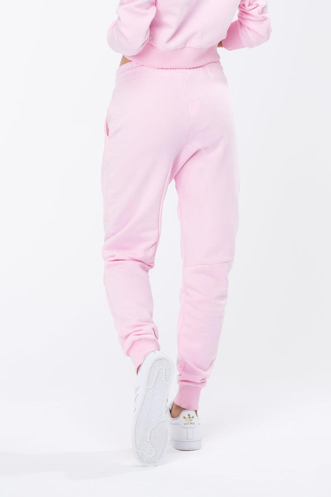 HYPE PINK SCRIPT WOMENS JOGGERS