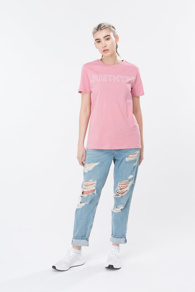 HYPE PINK JUSTHYPE WOMENS T-SHIRT