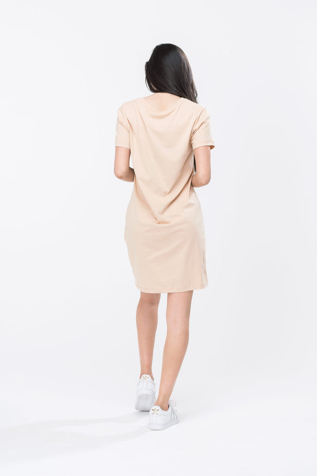 HYPE SAND SCRIPT WOMEN'S T-SHIRT DRESS