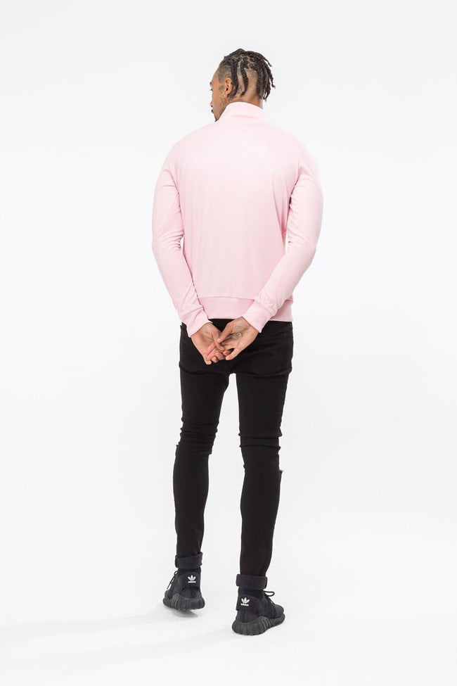 HYPE PINK STAFF MENS TRACK CREW NECK