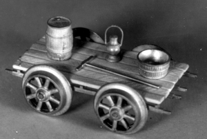 PUSH WORK CAR W/TOOLS (kit)