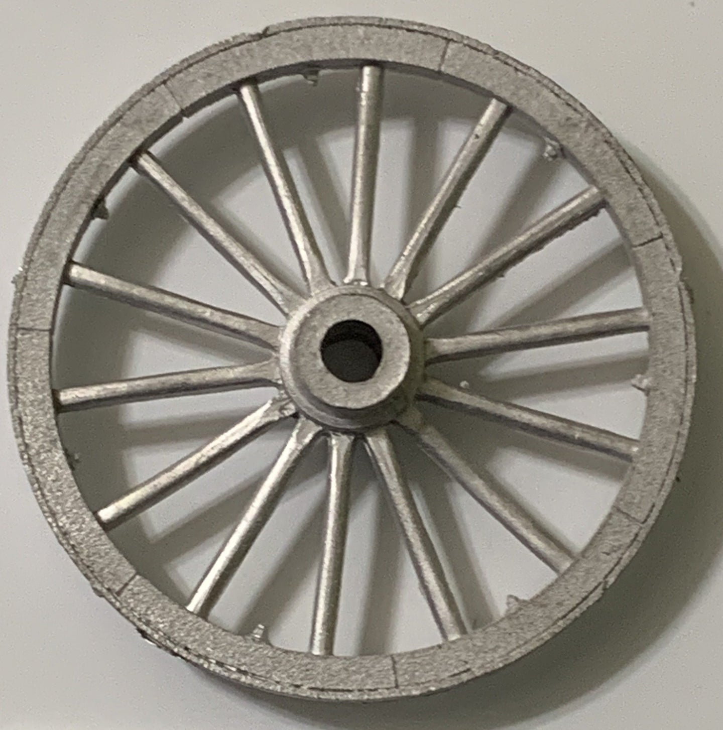 Wheels for wagon or cannon  qty 2