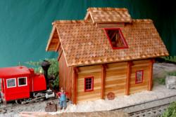 small engine shed plan set