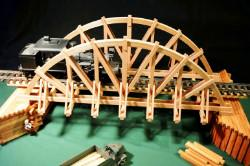 33 INCH CAMEL BACK BRIDGE PLANS