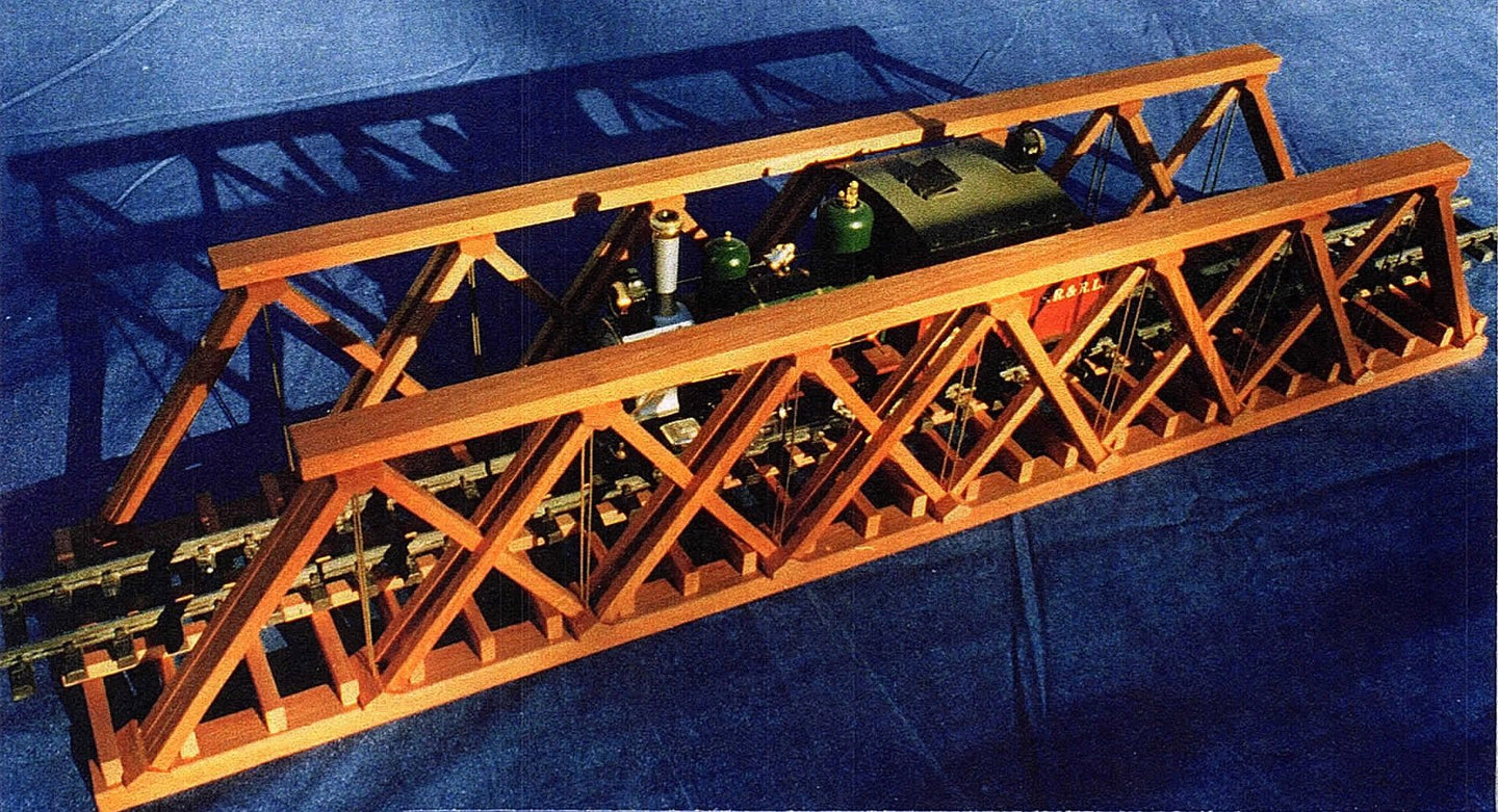 42 INCH HOWE DECK BRIDGE PLAN SET