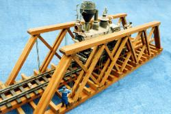 30 minch compression deck bridge plans