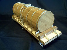 31ft Water car-Turn of the centry wood