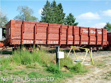 No Frills Cd D&RGW Narrow Gauge Freight Cars